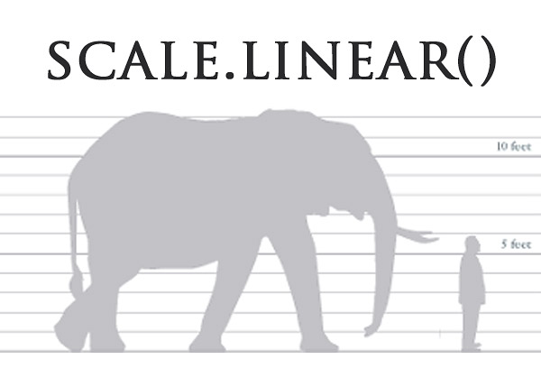 SVG D3 js - 定義比例( scale linear() ) - OXXO STUDIO