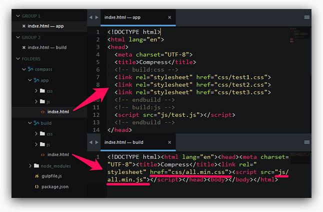 Gulp 學習 3 - 打包壓縮 HTML
